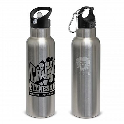 Nomad Vacuum Personalised Bottle - Stainless