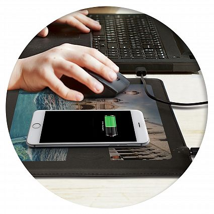 Davros Wireless Charging Mouse Mat 116032