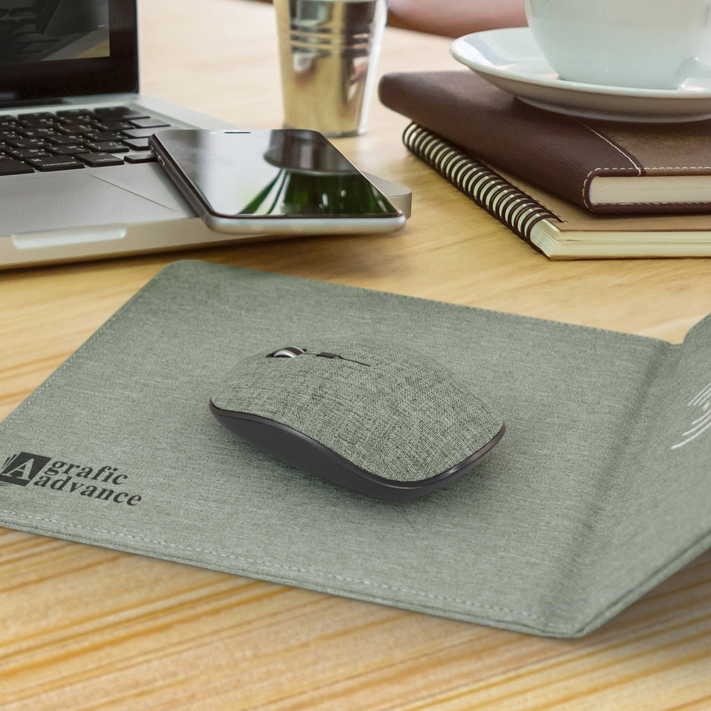 Greystone Wireless Charging Mouse Mat 116768