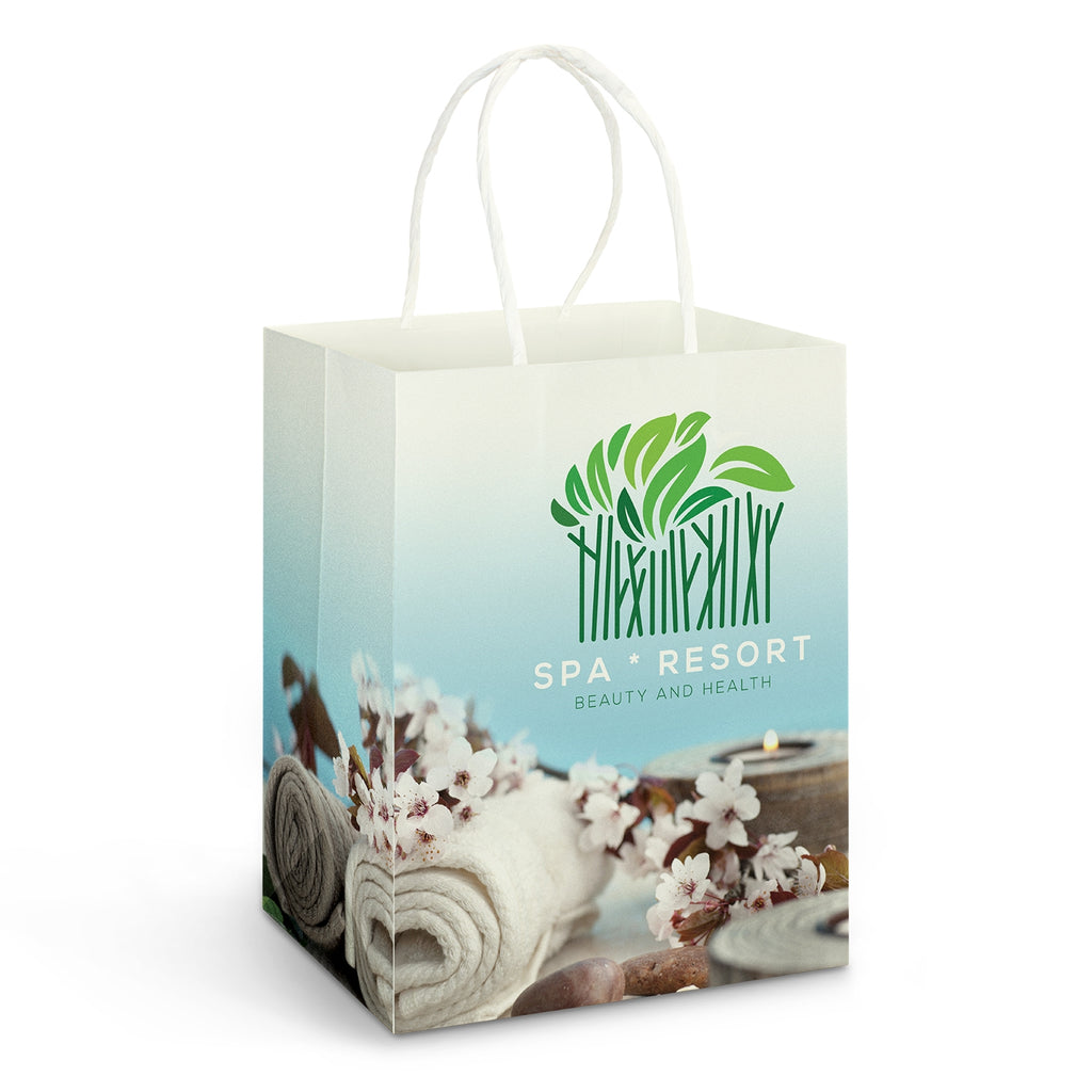 Large Paper Carry Bag Full Colour 116937