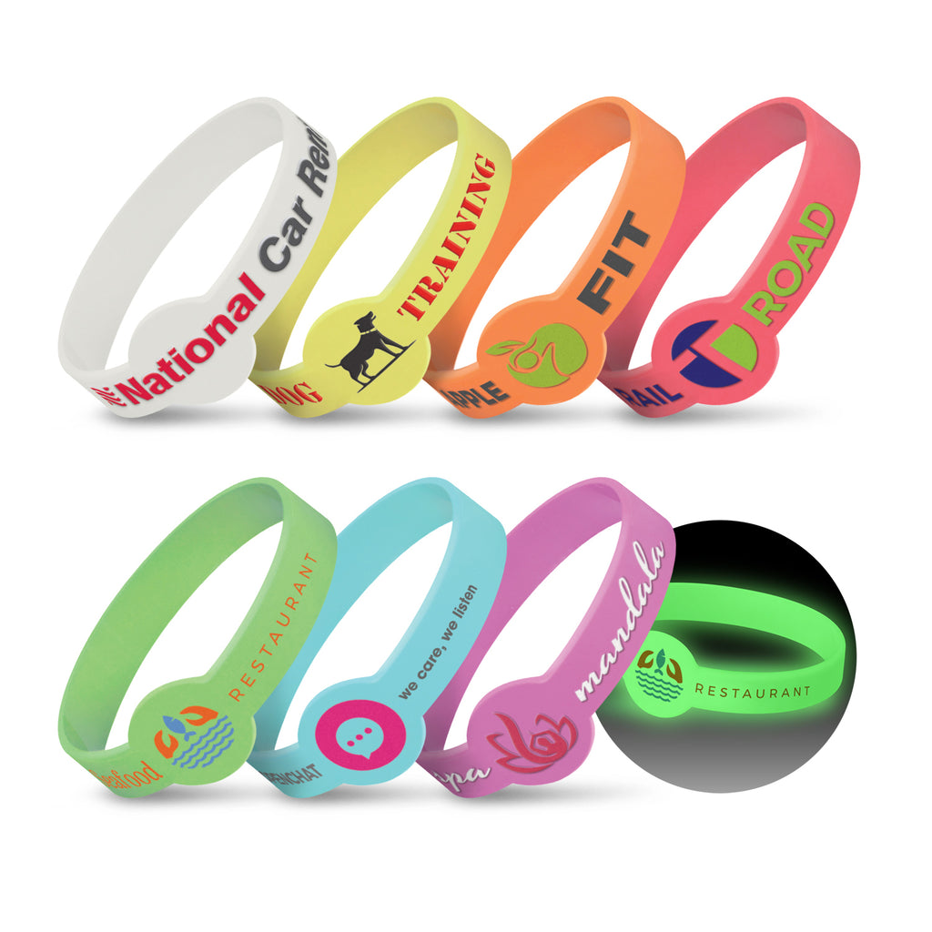 Xtra Silicone Wrist Band - Glow in the Dark 117057