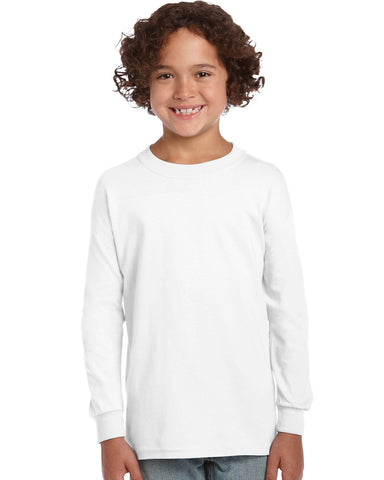 Ultra Cotton Youth Long Sleeve T-Shirt 2400B