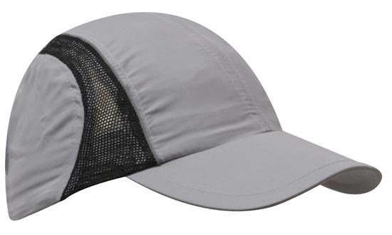 Micro Fibre & Mesh Sports Cap with Reflective Trim In Bulk