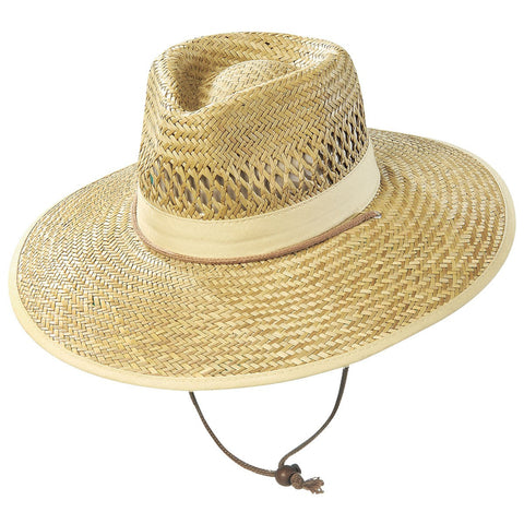 Straw Hat W/Toggle 3942A