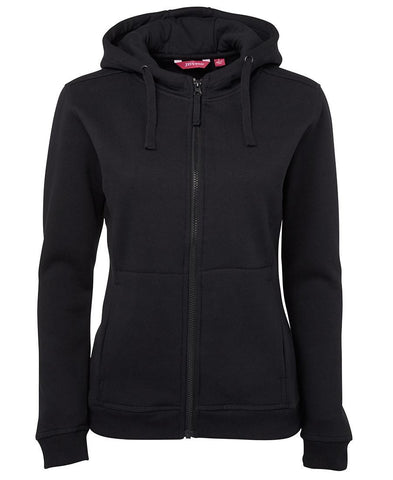 Ladies Full Zip Fleece Hoodie 3HJ1