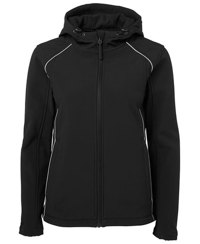 Ladies Hooded Soft Shell 3HSJ1