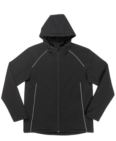 Hooded Soft Shell Jacket 3HSJ