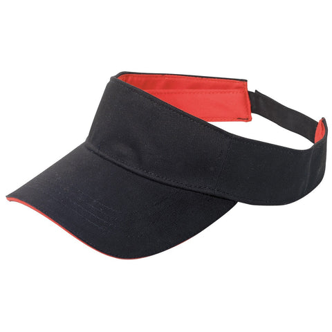 Cotton Visor Sandwich Peak 4040