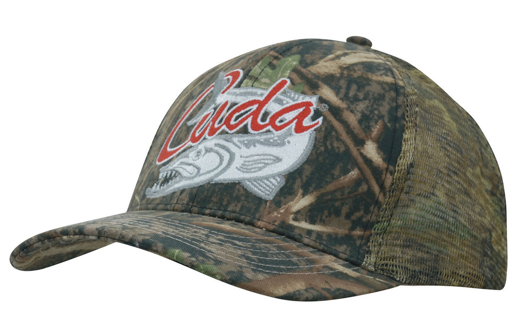 True Timber Camouflage Cap with Camo Mesh Back H4059