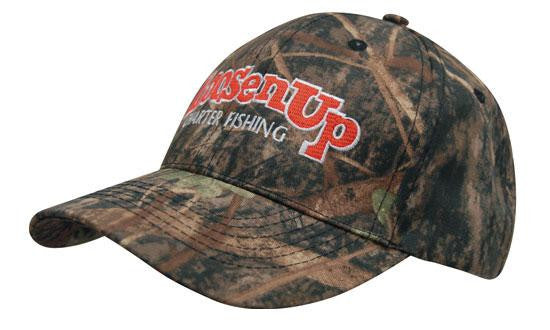True Timber Camouflage 6 Panel Cap H4121