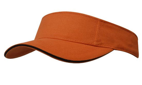Brushed Heavy Cotton Visor H4230