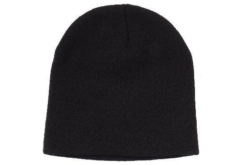 Rolled Down Acrylic Beanie - Toque H4244