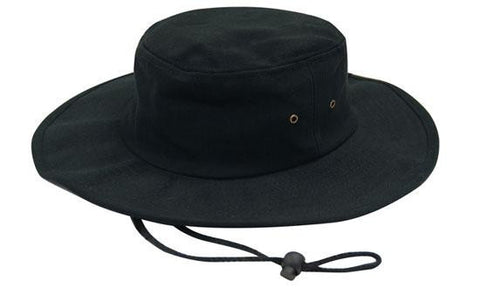 Brushed Heavy Cotton Hat H4247