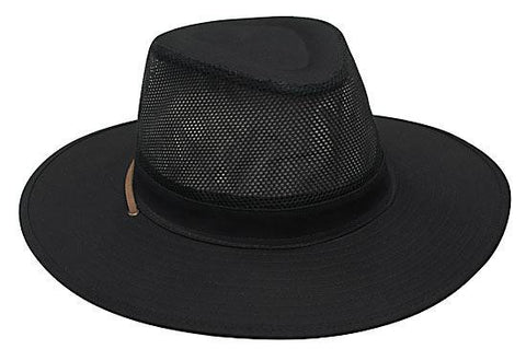 Safari Cotton Twill & Mesh Hat H4276