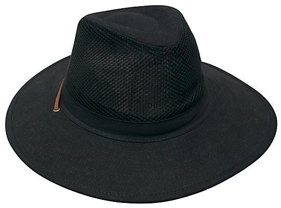 Collapsible Cotton Twill & Soft Mesh Hat H4277