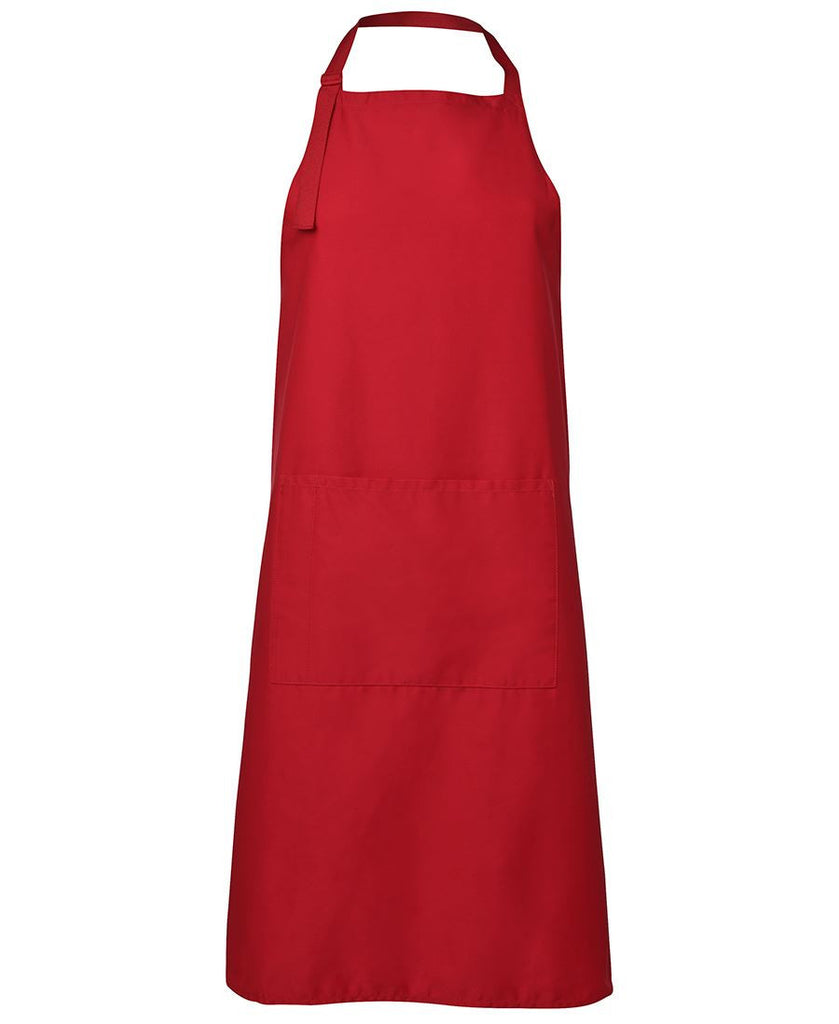 Red Apron With Pocket Wholesale