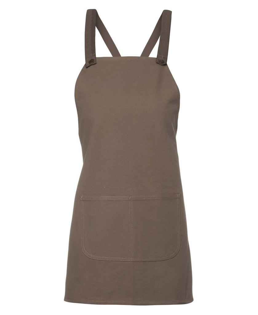 Cross Back 65x71 Bib Canvas Apron (Without Strap) Wholesale