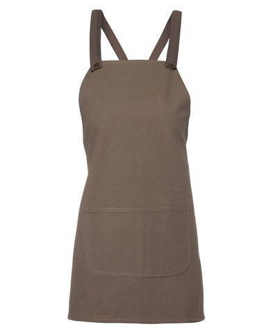 Cross Back 65x71 Bib Canvas Apron (Without Strap) 5ACBE