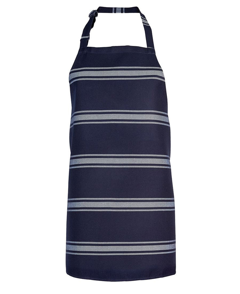 Navy / White Butcher's Apron In Stock