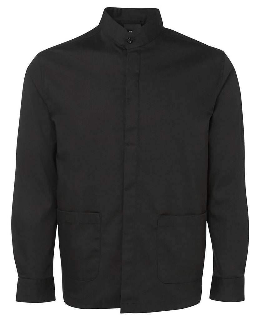 Black Personalised L/S Hospitality Shirt