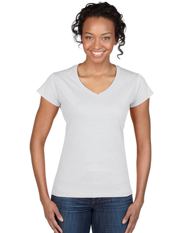 Softstyle Ladies' V-Neck T-Shirt 64V00L