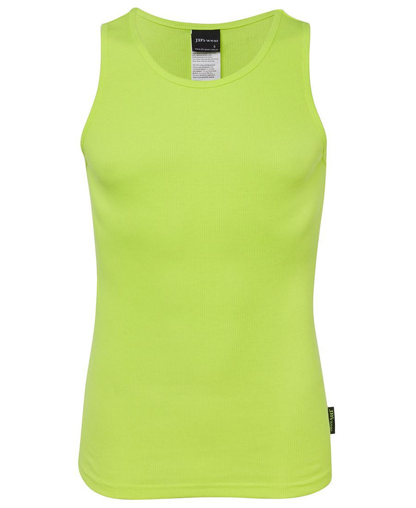 lime Printed Hi Vis Training Sinlget