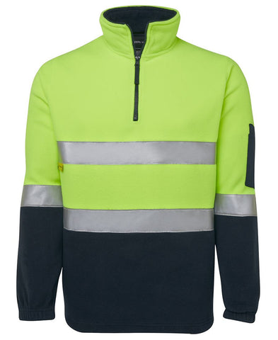 Hi Vis (D+N) 1/2 Zip Polar Fleece 6DNPF