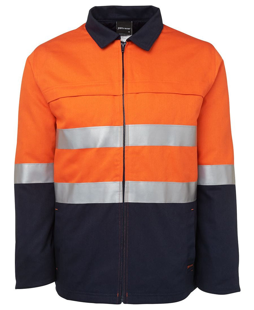Orange Hv (D+N) Cotton Jacket Supplier