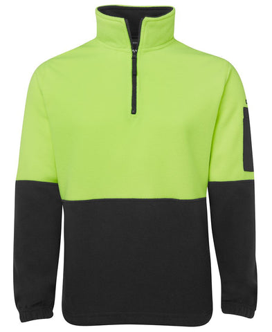 Hi Vis 1/2 Zip Polar Fleece 6HVPF