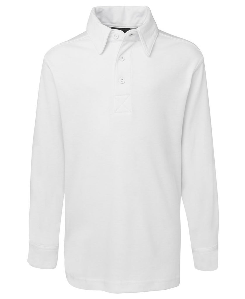 Podium Kids L/S Cricket Polo 7CPL