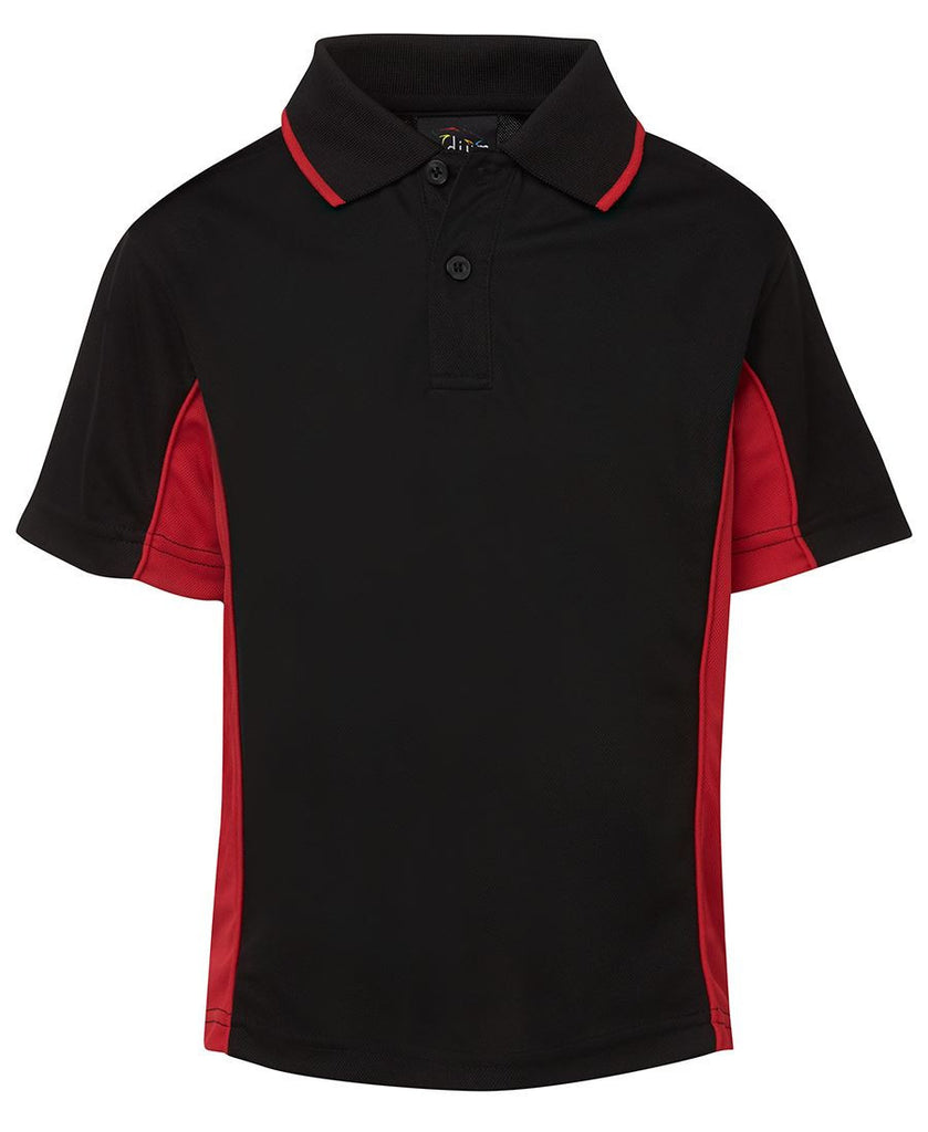 Podium Kids Contrast Polo 7PP3