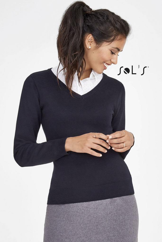 Galaxy Women's V-Neck Sweater S90010