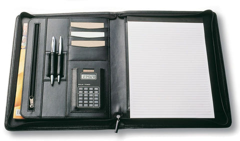 A4 Zippered Compendium R9012