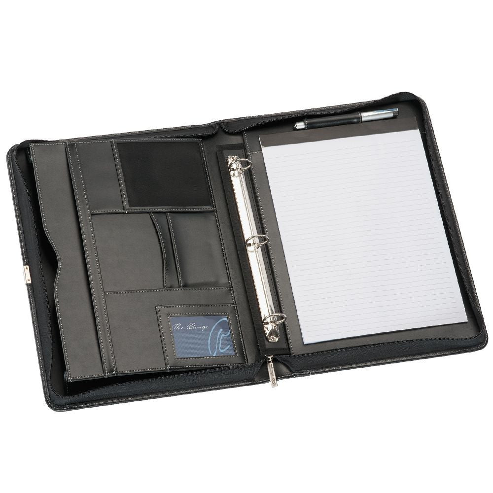 A4 Leather Compendium Binder R9023