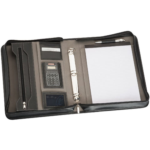 A4 Zippered Compendium R9024