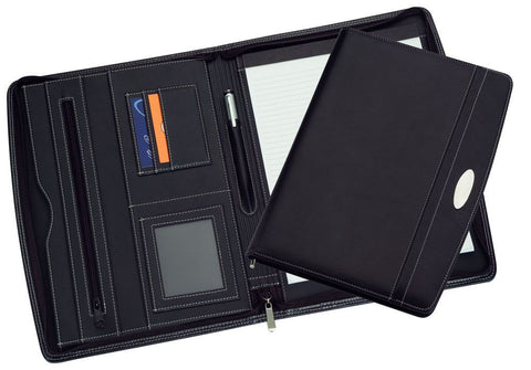 A4 Zippered Compendium R9105