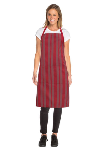 Phoenix Red Bib Apron AB027-RED