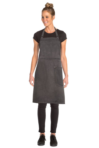 Dorset Pewter Cross Back Apron ACRS054-PEW
