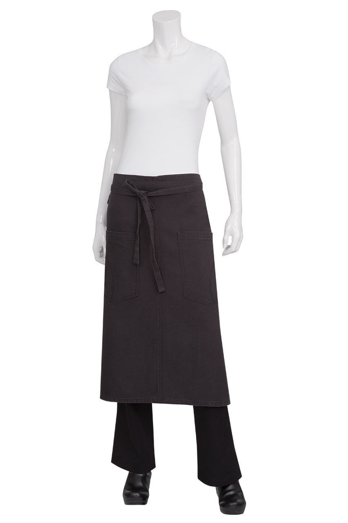 Rockford Steel Grey 3/4 Apron ALWKV023-SGY