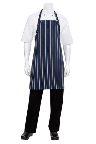 Striped Bib Apron No Pocket APKNW