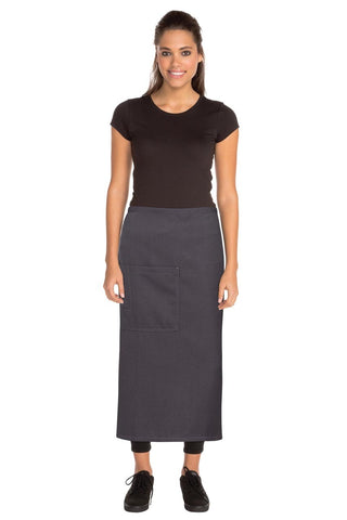 Soho Grey 3/4 Wide Apron  ASCF24-GRY