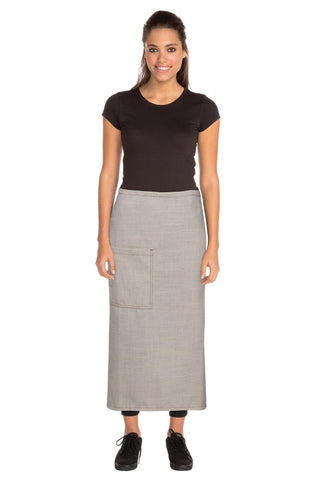Soho Natural 3/4 Wide Apron ASCF24-NAT