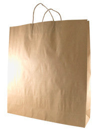Brown Kraft Paper Bag - Large B3