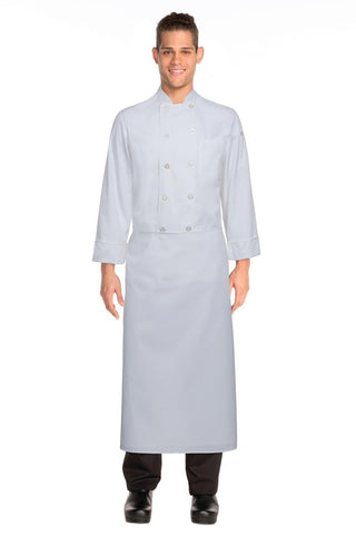 White Long Four-Way Apron B4LG-WHT