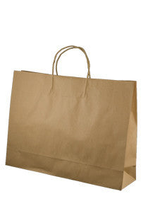 Brown Kraft Paper Bag - Midi btq BMB