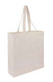 Branded Cotton Calico Bag -  Tote With Bottom Only