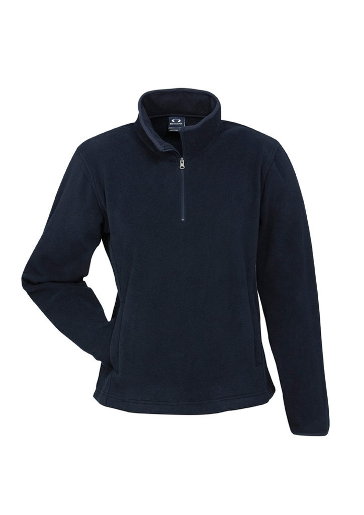 Navy Custom Ladies Trinity 1/2 Zip Pullover