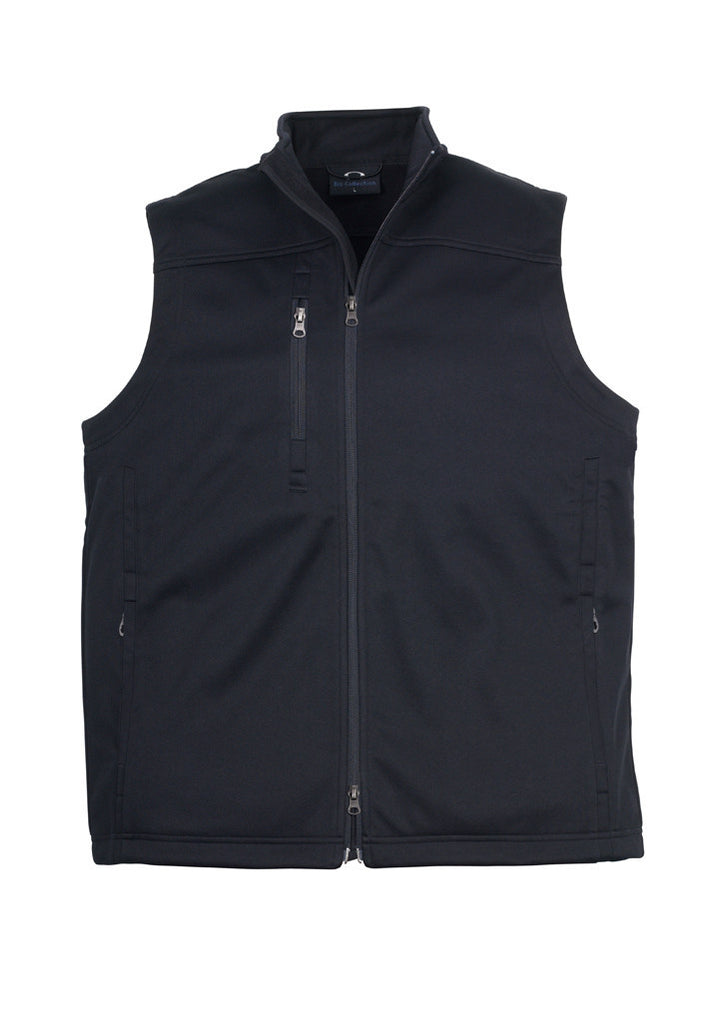 Black Mens Soft Shell Vest For Sale