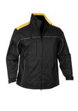 Black/Gold Mens Reactor Jacket For Sale