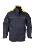 Navy/Gold Mens Reactor Jacket For Sale